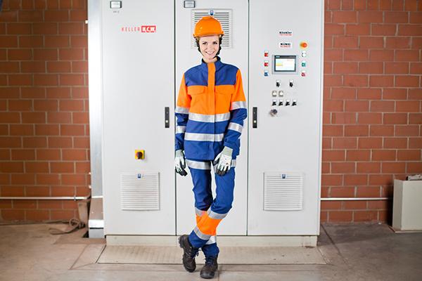 Odzież chroniąca przed działaniem łuku elektrycznego
