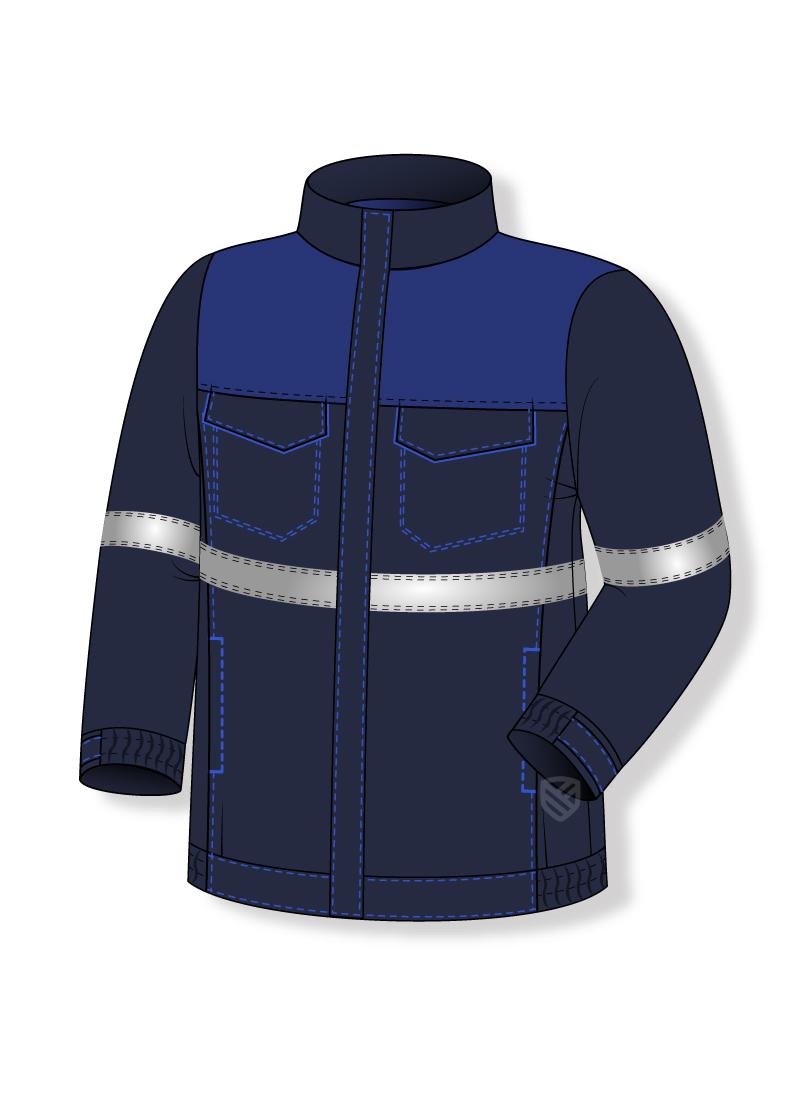 Bluza chroniąca przed działaniem łuku elektrycznego