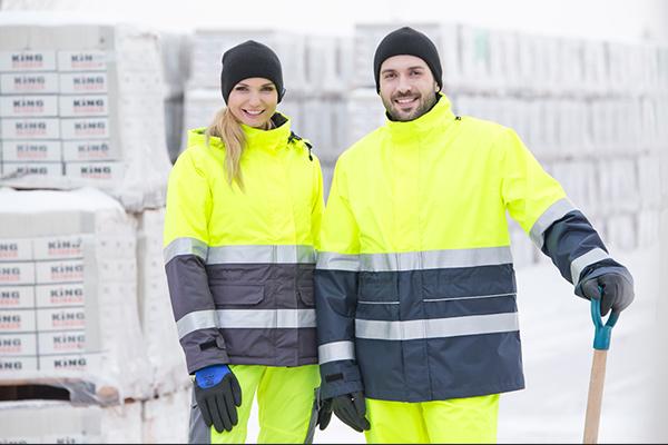 Odzież chroniąca przed zimnem