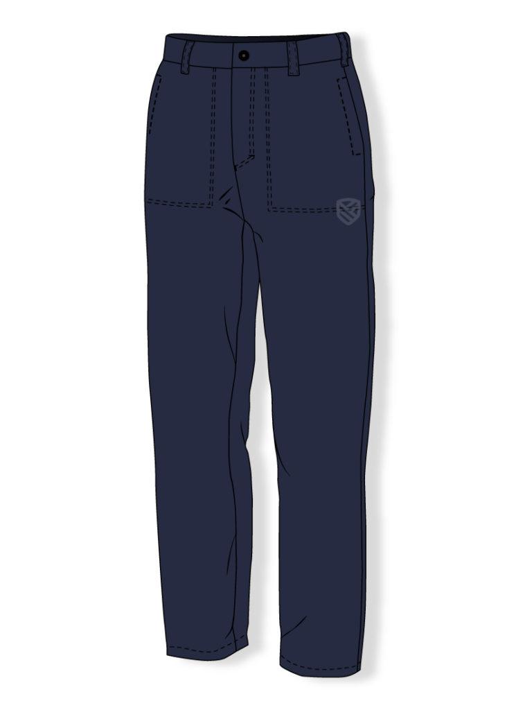 Spodnie dla spawaczy i trudnopalne