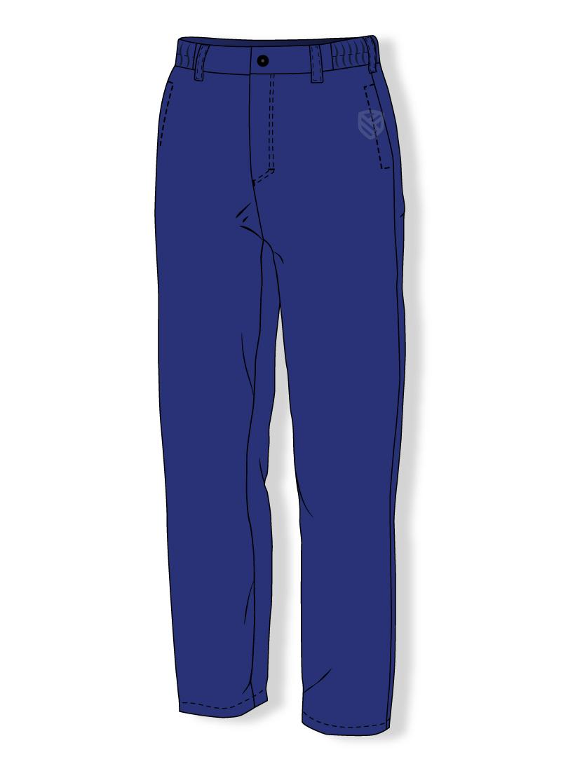 Ocieplane spodnie kwasoodporne