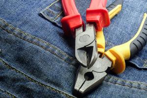 jeansowe spodnie robocze